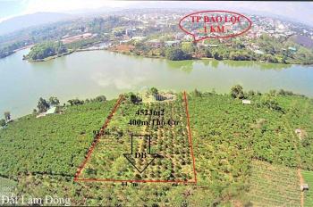 Bán đất rộng view hồ nam phương ngay trung tâm,tp bảo lộc