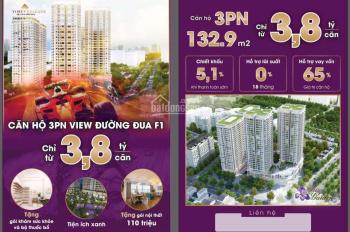 Chỉ từ 28tr/m2 - căn hộ cao cấp 3PN, siêu lớn 133m2 - dự án Iris Garden Mỹ Đình - LH: 0983.341.295