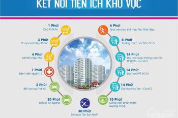 Bán đất sổ hồng tại Hiệp Thành City Q12, mặt tiền Nguyễn Thị Búp giá 18 - 20tr/m2. LH 0933125290