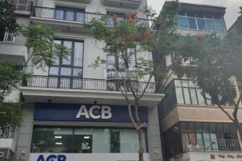 Bán nhà mặt phố Trần Thái Tông, diện tích 85m2, xây dựng 6 tầng, mặt tiền 8m NH 3 mặt thoáng, 38 tỷ