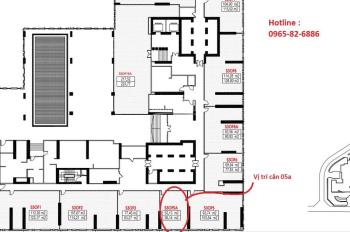 Cho thuê căn sàn văn phòng tầng 3 tòa S3 Vinhomes Sky lake: Liên hệ: 0965 - 82 - 6886