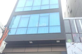 Cho thuê nhà đẹp ốp kính nhà đẹp mặt phố Trung Liệt, Đống Đa 100m2 x 7T thang máy