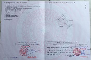 Chính chủ bán đất thổ cư khu tái định cư TP Rạch Giá, Kiên Giang