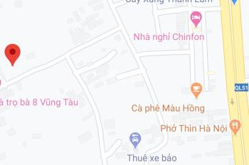 Chính chủ bán đất trung tâm thị xã Phú Mỹ, Bà Rịa - Vũng Tàu giá cực rẻ