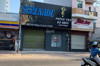 Cho thuê nhà MT 8m đường Cao Thắng, Q.10 - 1 trệt 1 lửng
