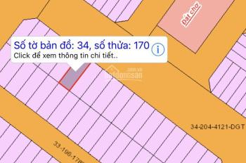 Cần tiền nên bán gấp lô đất đối diện chợ Đại Phước, trong khu tái định cư Đại Phước