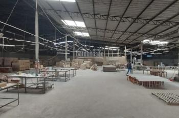 Cho thuê xưởng sản xuất đồ gỗ nội thất có VP mặt tiền ngay Thuận Giao, TX Dĩ An, tỉnh Bình Dương