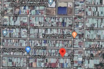 Nhà trọ đường D11, KDC Việt Sing, giá cực tốt, liên hệ 0886 048 048