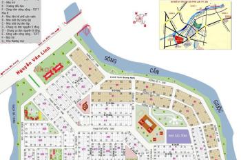 Nền nhà phố KDC Phú Lợi đối diện công viên DT 120m2, 110m2 giá chỉ 31tr/m2