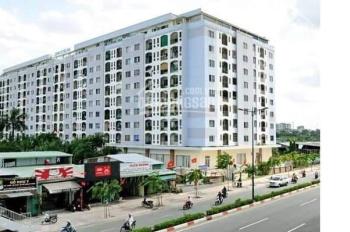 Cho thuê CC Cửu Long, lầu 3, 63m2 thiết kế 2PN 1WC nội thất cơ bản đẹp có balcony rộng giá 7 tr/th