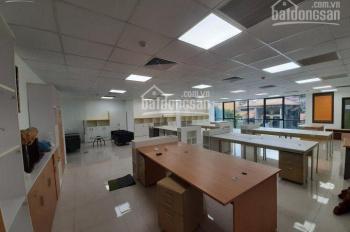 Cho thuê sàn văn phòng tại Hoàng Văn Thái, DT 160 m2 /tầng, mặt tiền 10m
