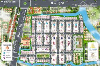 Chỉ với 650tr sở hữu ngay lô đất mặt tiền đường QL50 SHR công chứng sang tên ngay