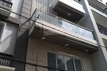 Nhà 4T - khu vip - hẻm 6m Nguyễn Phúc Chu - P15 - Tân Bình, 6.5 tỷ