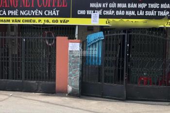 Nhà nguyên căn 1T 1L cho thuê hẻm 158 Phạm Văn Chiêu Gò Vấp đang cho thuê và KD thu nhập ổn định