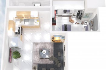 Bán chung cư mini 25m2, quận Bình Tân nhận nhà ở ngay chỉ TT 400tr