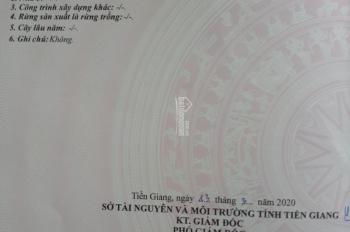 Bán đất mặt tiền nhựa 12m Tân Thành, Gò Công Đông