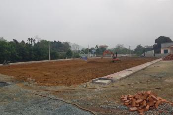 Đất nền Hòa Lạc giá 700 tr / lô 78m2 ngay cổng chào Phú Mãn, đường lớn 12m LH 0965847523 Mr Trường