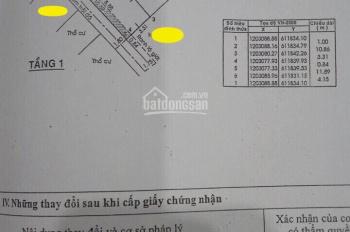 Bán nhanh căn nhà cấp 4 có gác, hẻm xe hơi đường Số 10 Linh Xuân, DT: 50m2, hoàn công giá 2,58 tỷ