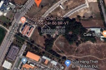 Bán đất mặt tiền Võ Văn Kiệt 9x26m, sát bệnh viện đối diện trường quân sự