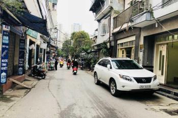 Cho thuê lô góc mặt phố Nguyễn Chính, Tân Mai, Hoàng Mai Hn, 50m2x4,5 tầng MT gần 4m giá 15tr/th