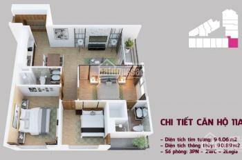 Bán gấp cắt lỗ căn góc 3PN tầng trung đẹp nhất dự án, giá rẻ nhất thị trường, nhận nhà ở ngay