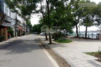 Cho thuê nhà mặt hồ phố Nhật Chiêu, 100m2, 5 tầng, mặt tiền 6m, làm kinh doanh cafe, quán ăn, VP