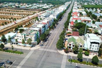 Bán đất mặt tiền kinh doanh Mỹ Phước Tân Vạn, đối diện KCN, sổ sẳn, thổ cư 100%. LH: 0847211193