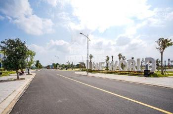 Sập sàn lô biệt thự siêu đẹp mặt tiền đường 20,5m ngay bãi tắm biển Viêm Đông - Đà Nẵng