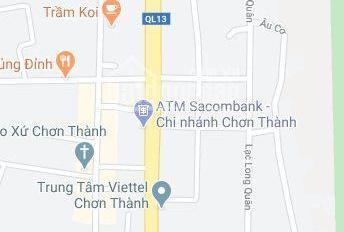 Kẹt tiền bán miếng đất 260m2/720tr gần Chợ minh Hưng - SHR thổ cư 100m2 0902756746