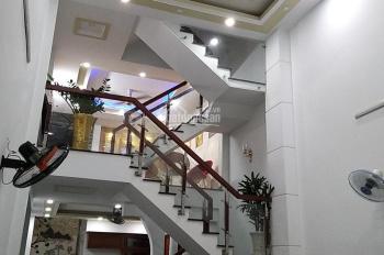 Kẹt tiền cần bán gấp căn nhà DT 5x15m, kết cấu 1 lửng, 1 trệt, 3 lầu, 4PN, 5WC, MT đường 8m