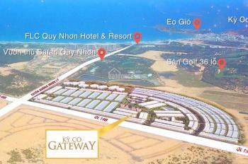 Đất biển Quy Nhơn sổ đỏ Kỳ Co Gateway. Ngân hàng hỗ trợ 50% thanh toán chỉ 89 triệu LH 0932 142679