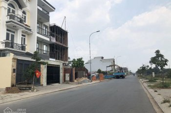Bán đất xây biệt thự DT 10x20m thổ cư 100% liền kề Aeon Bình Tân đường 18m