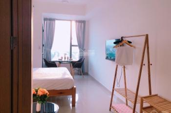 Nóng, officetel River Gate full nội thất 26m2 view đẹp tầng trung cho thuê 8 tr/th. LH 0916020270