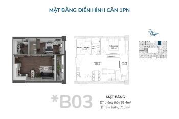 Bán căn B1603 dự án Hà Tây Millennium