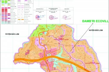 Đất nền biệt thự Dambri Ecovill, giá từ: 4,5tr/m2, sổ hồng riêng từng nền, thổ cư 100%