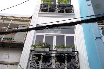 Cho thuê nhà mới hẻm xe hơi Phan Đình Phùng, 3.2*10m, 4 lầu, 15 triệu/tháng