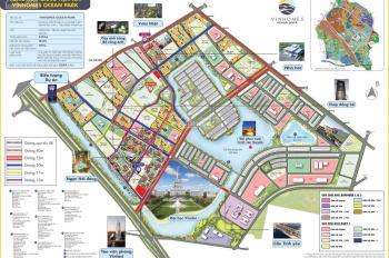 Bán cặp shophouse SB mặt đường 52m - dự án Vinhomes Ocen Park với giá rẻ nhất thị trường 0985318777