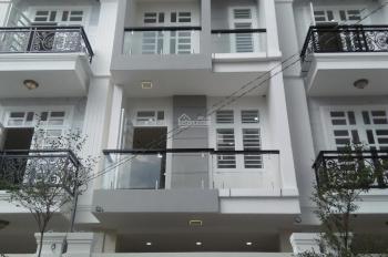 Nhà mới HXH 7m đường số 6, HBC, DT 4.5m * 16m, xây 3 lầu, 4PN, nhà đẹp, gần cầu Bình Lợi