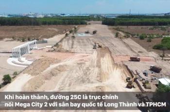 Dự án Mega City 2, giá 6,2 tr/m2 rẻ nhất khu vực mặt tiền đường 25C - TTHC Nhơn Trạch LH 0976723030