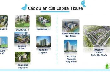 Chung cư Ecolife Riverside Quy Nhơn, giá hời của quỹ hàng đợt 1 chỉ từ 18tr/m2 (33.5 - 78.8m2)