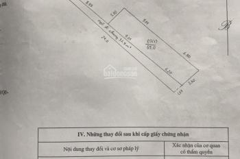 Cần bán 55m2 đất mặt đường vào làng Ngâu ngõ 298 Ngọc Hồi
