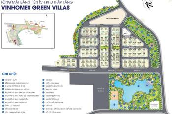 Bán biệt thự Vinhomes Smart City view công viên vườn hoa 7ha DT 235m - 280m - 350m2. LH 0931368661