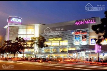 Mở bán 15 nền đất khu Tên Lửa Aeon Mall Bình Tân - Sổ hồng vĩnh viễn