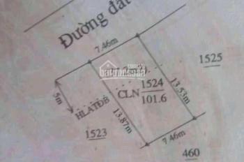Đất bán mặt tiền đường Tân Phước Khánh 35, 7.5x14m