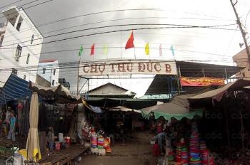 Nhà nát đường Hồ Văn Tư - Chợ Thủ Đức B, 55m2 hoàn công có sổ, bán gấp với giá cực rẻ