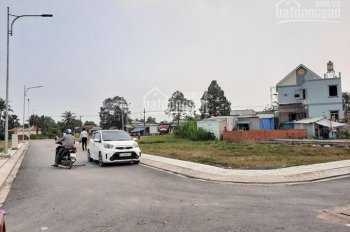 Cần bán gấp lô đất sổ hồng mặt tiền Võ Văn Bích, trung tâm Bình Mỹ Củ Chi DT 85m2, giá 1.68 tỷ