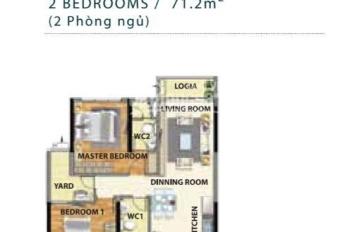 Bán nhanh căn hộ 2PN 71m2 tại Celadon Tân Phú với lịch TT Đặc Biệt chỉ 15%. Duy nhất còn xót lại