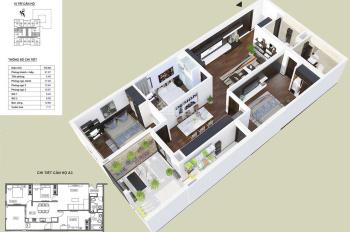 Bán suất ngoại giao căn 3 pn 112m2 có vườn treo HPC 105 Hà Đông giá tốt, Lh 0985049638 (có zalo)