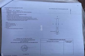 Bán đất chính chủ trung tâm thị trấn Chơn Thành có hỗ trợ trả góp ngân hàng