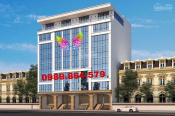 Bán nhà mặt phố Trần Vỹ, diện tích 270m2, tòa văn phòng 8 thang máy, MT 13m. LH: 0989.864.579